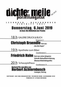 Dichtermeile 2019